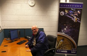 Guy Thomas pictured at the C-SIGMA Project HQ